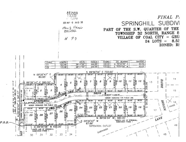 Property for sale at 16 Nicobe Drive, Coal City,  IL 60416