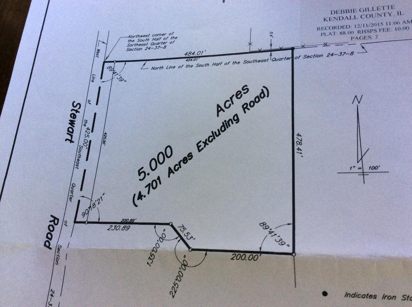 Illinois kendall county oswego - Property Photo For 3900 Stewart Road Oswego Il 60543 Mls 09650938