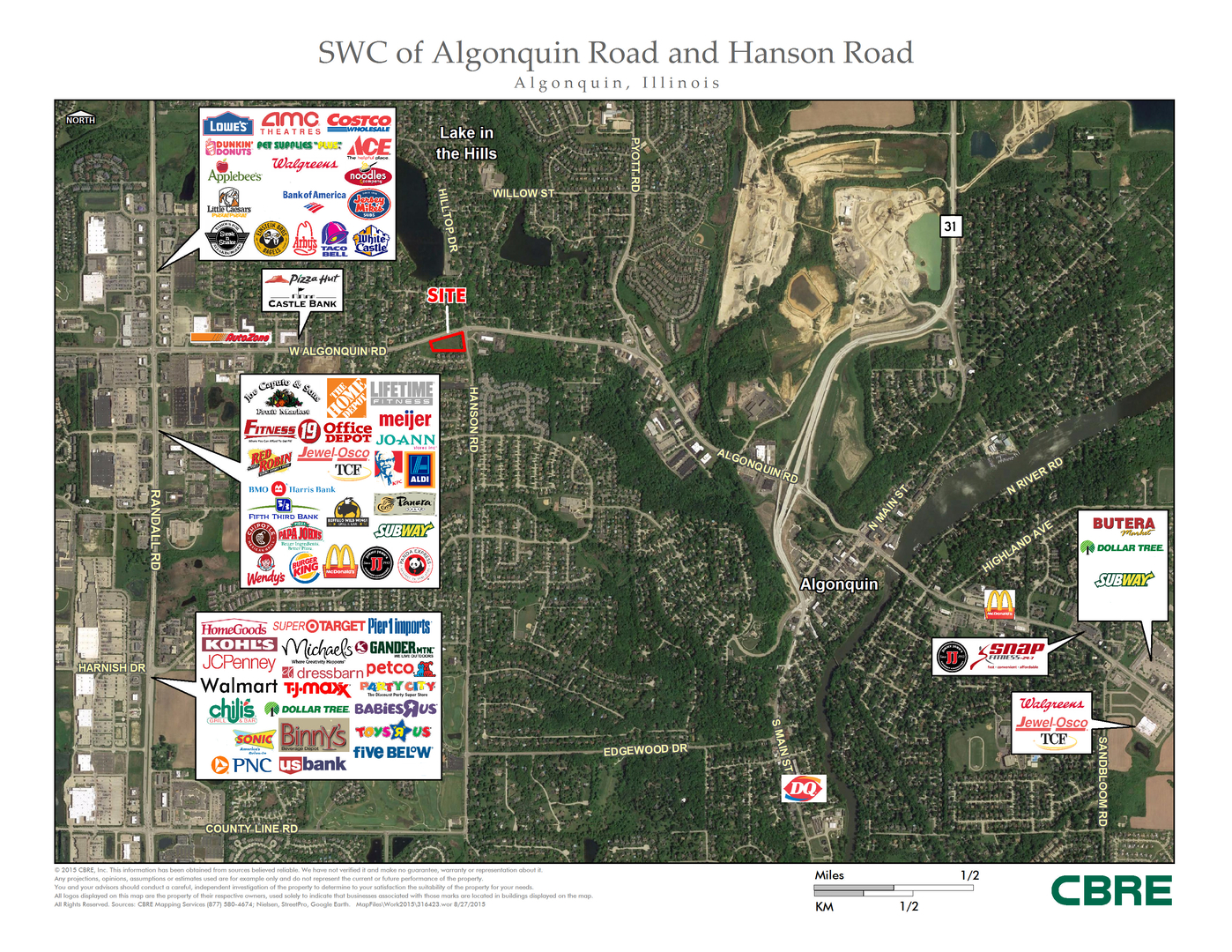 Property for sale at SWC Algonquin & Hanson Road, Algonquin,  Il 60102
