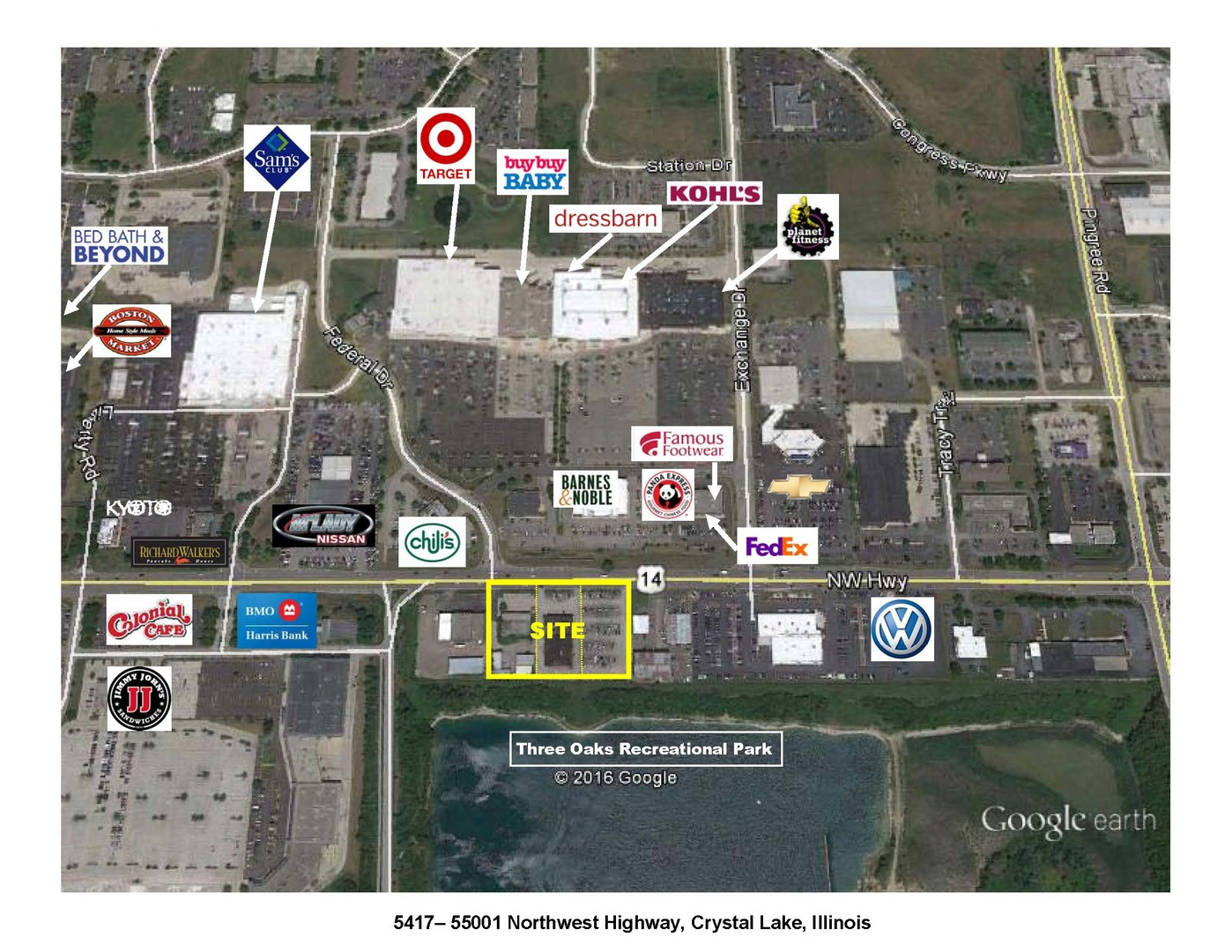 Property for sale at 5417 Northwest Highway, Crystal Lake,  IL 60014