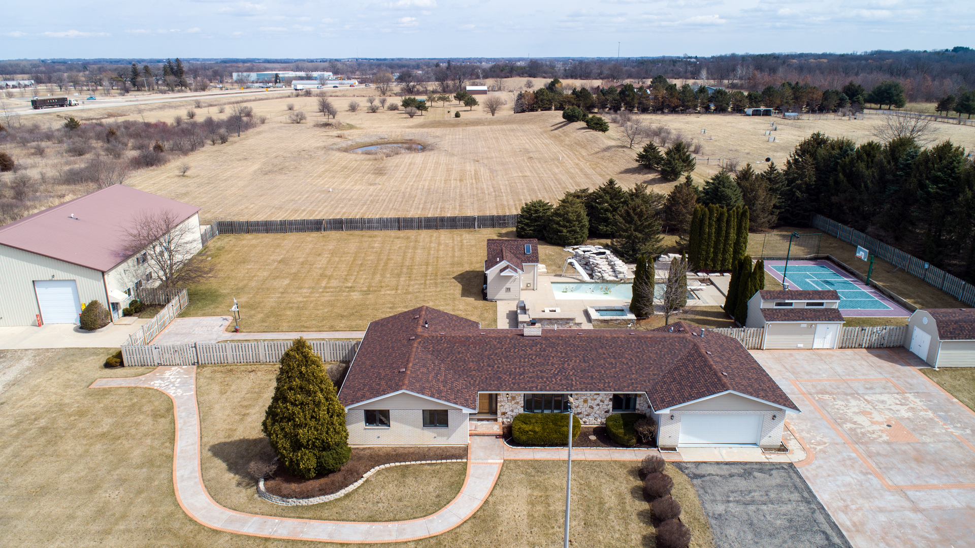 Property for sale at 704 North Rose Farm Road, Woodstock,  IL 60098