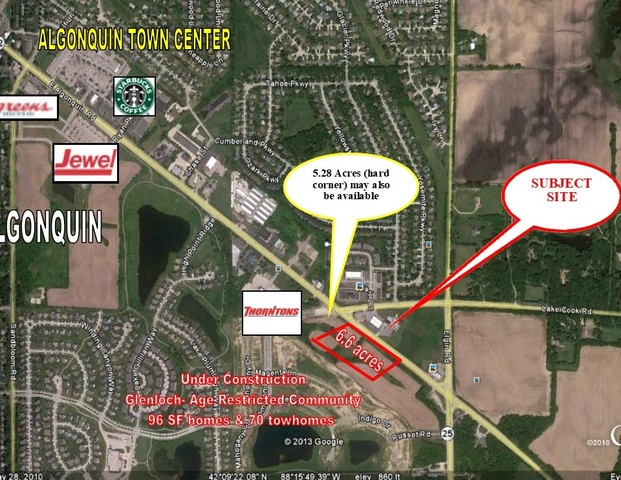 Property for sale at 000 Route 62 Highway, Algonquin,  Il 60102