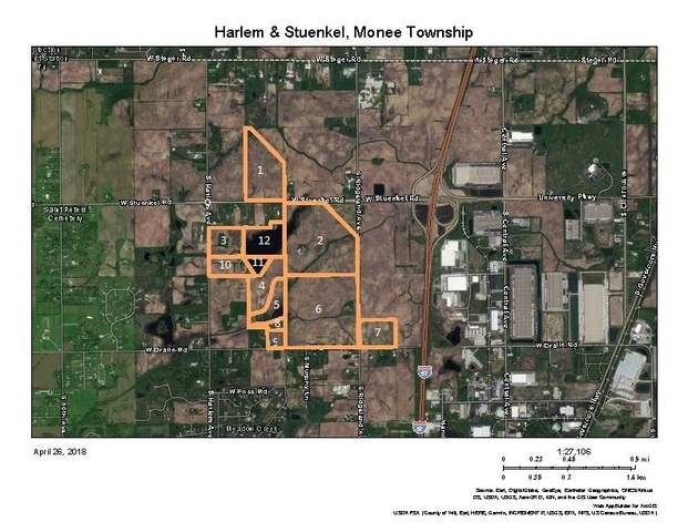 Property for sale at 12 Lots West North & South Of Stuenkel Road, Monee,  Il 60449