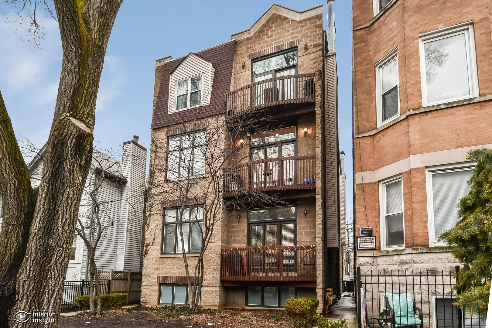 Property for sale at 1464 West Grace Street Unit: 2F, Chicago-CHI - Lake View,  Illinois 60613