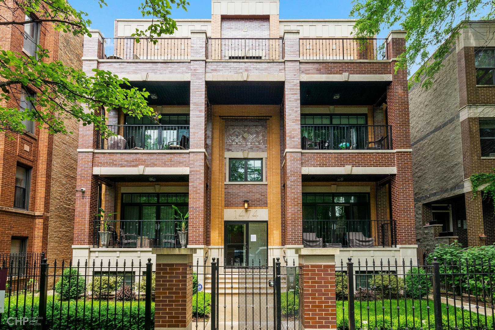 Property for sale at 1474 West Byron Street Unit: PH, CHICAGO,  Il 60613