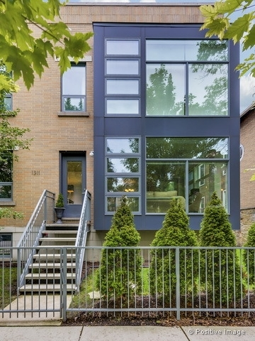 Stunning Designer Lincoln Park Duplex with private gated walk up entrance- lives like a Single Famil