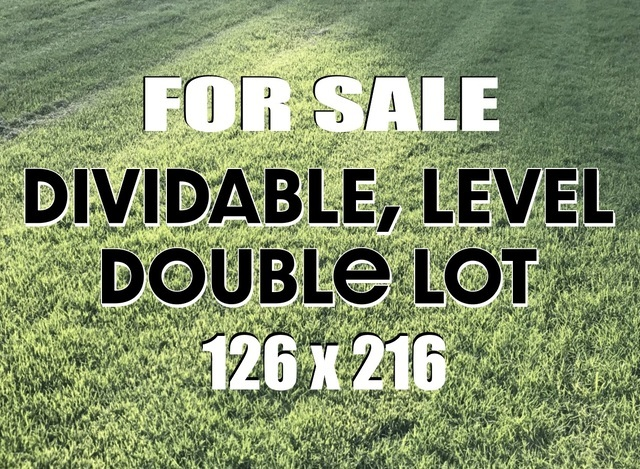 YOUR DREAM HOME ON OVER 1/2 ACRE, LARGE GRASSY LOTS IN LOMBARD. OR IF YOU PREFER - BUILD TWO! THE FRONTAGE ALLOWS 2 LOTS & YOU CAN STILL HAVE YOUR HOUSE SET BACK FROM THE STREET, LOT IS 216 FT. DEEP. EASY TO GET TO COMMUTER TRAIN & PARK, CLOSE TO DOWNTOWN LOMBARD WITH FOOD, DRINK, FESTIVALS & ACTIVITIES. CONVENIENT TO EXPRESSWAYS PLUS LOCATED IN A GREAT NEIGHBORHOOD WITH GREAT SCHOOLS NEARBY. ZONED RESIDENTIAL. CALL TODAY! MOTIVATED SELLER, SO MAKE AN OFFER!!