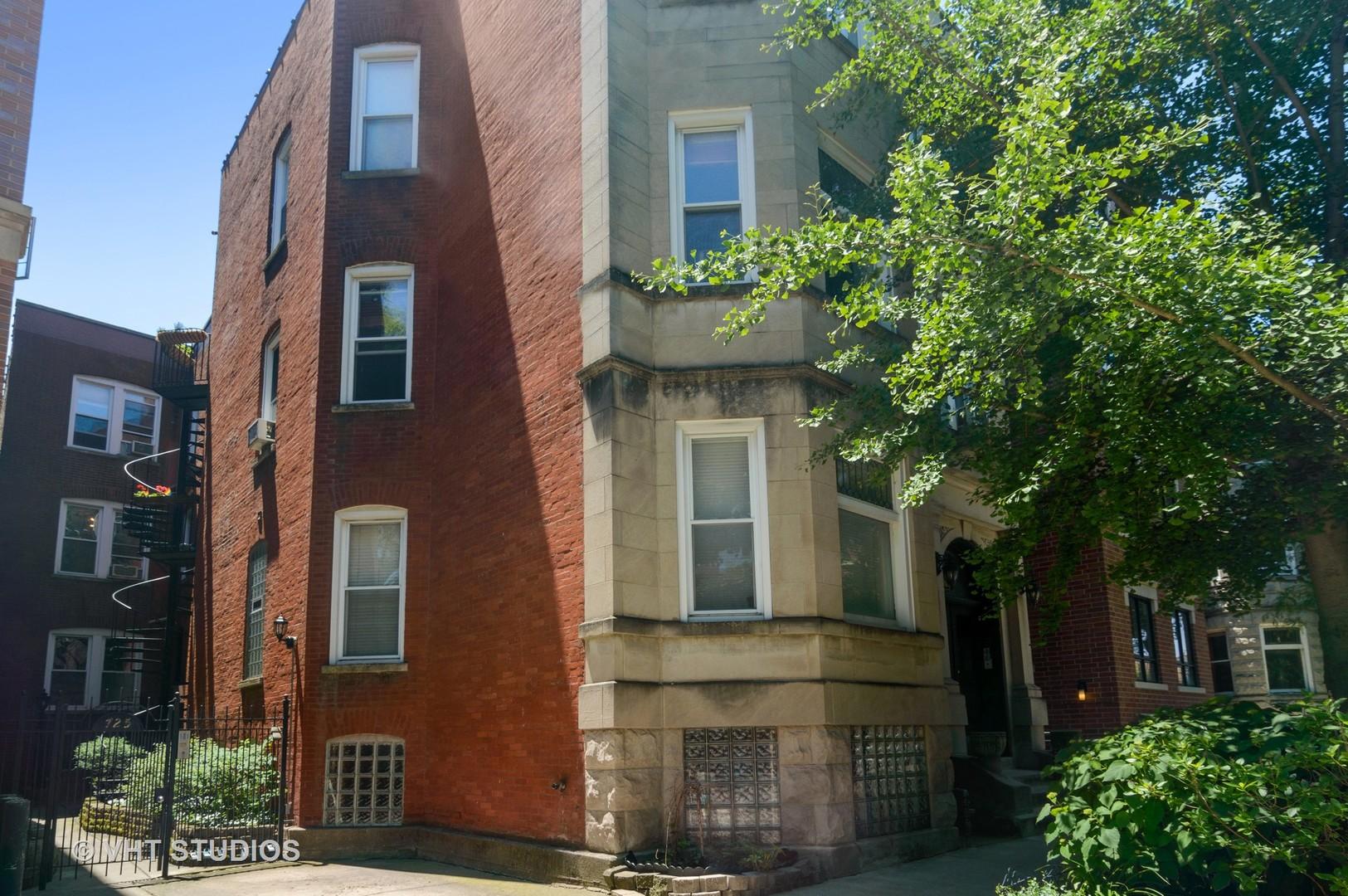 725 ALDINE Avenue, Chicago, Illinois 60657, 2 Bedrooms Bedrooms, ,1 BathroomBathrooms,Attached Single,For Sale,ALDINE,10113374