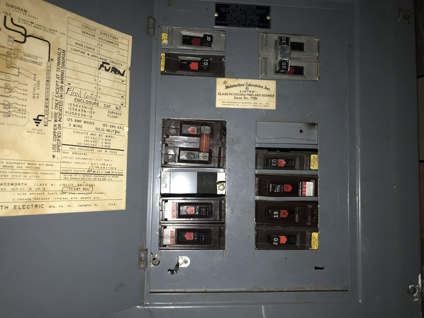 Residential Panel Wiring Diagram Library Main Service Disconnect 610 East 87 Th Place Chicago Il 60619 The Lowe Group Rh Lowegroupchicago Com Lighting Control