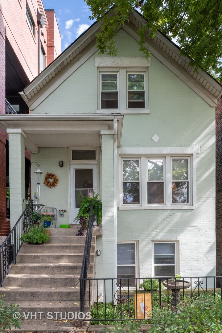 Rarely available  Bucktown multi-unit recently renovated into 3 turn-key units. The property include