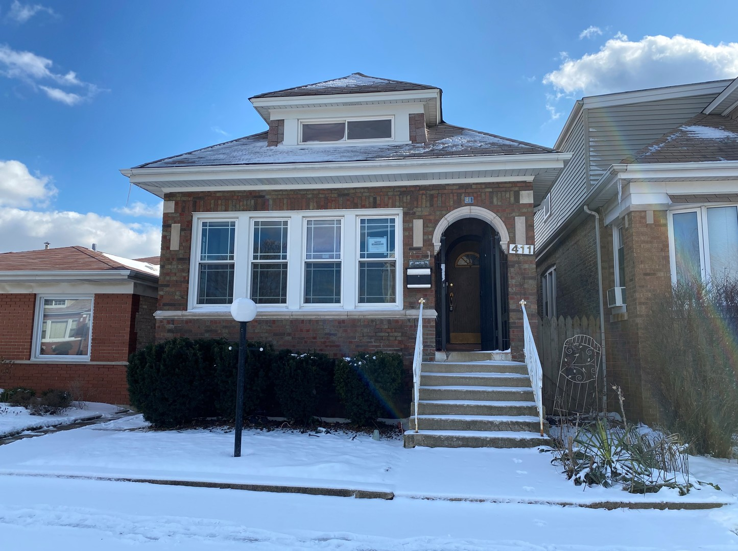 Investors special!  Great opportunity to make this  4 bedroom 2 bathroom  all brick bungalow your own!  Master bedroom is on the second level with plenty of living space. Unfinished basement waiting for your ideas. Property is sold AS-IS!! SELLER IS ACCEPTING BACK-UP OFFERS!!!!!!