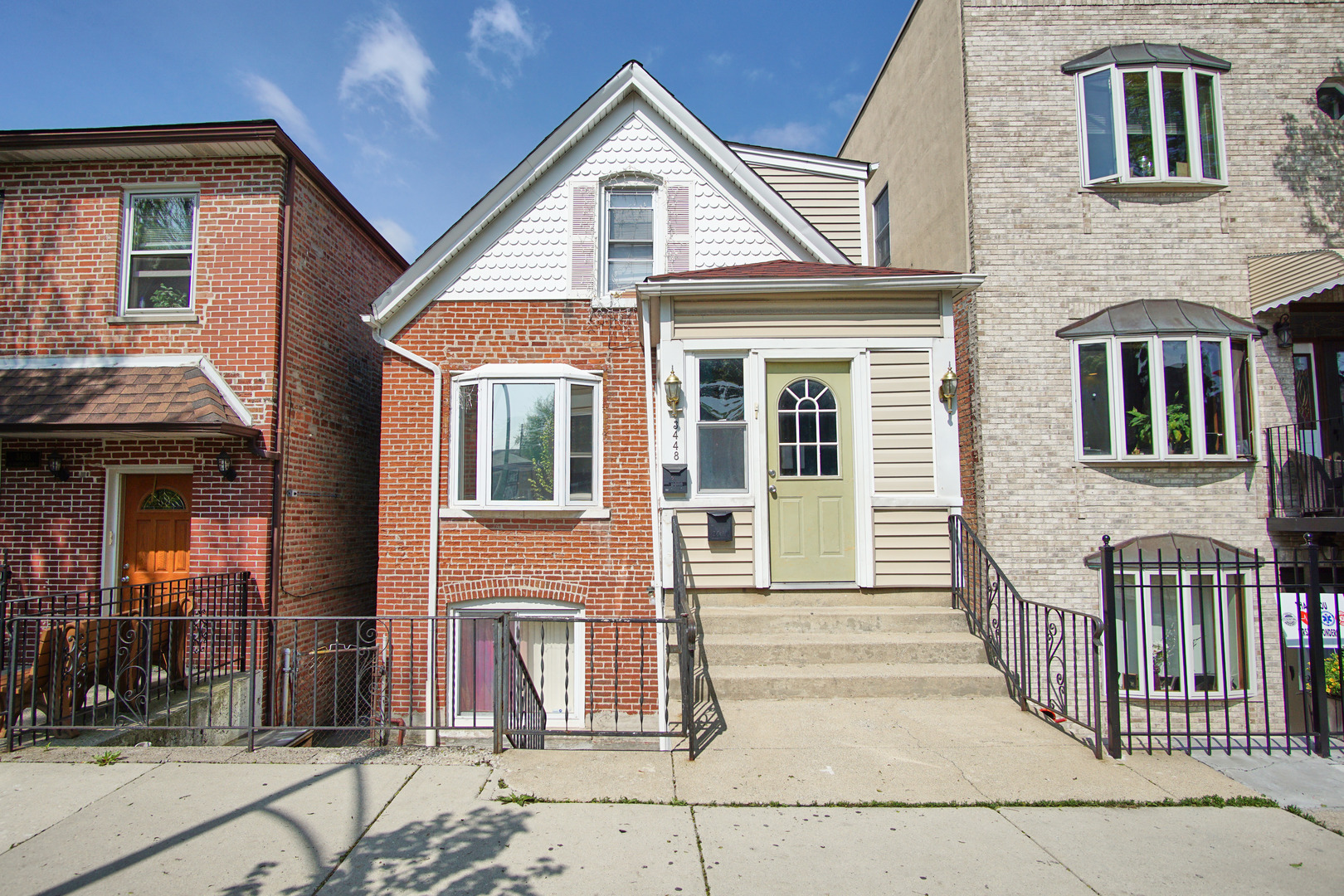 Great INVESTMENT property! This is a unique two-story home nestled in McKinley Park. TWO potential i