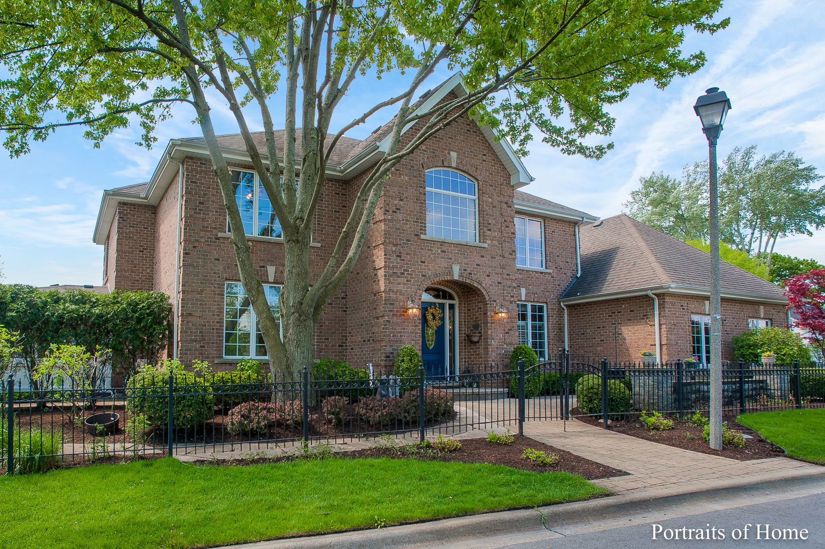 Walk right into your forever home. This beautifully kept home leaves nothing to be desired. Walk into a bright and open entry way flanked by a formal living and formal dining room. The large kitchen with eat in area is open to the living room. Connected to the living room is a 3 season room with hot tub included. This home is perfect for entertaining. Upstairs features 4 bedrooms and a master suite is something to dream over. The basement living room features a hand crafted wet bar. The pool table and the foosball table will be included as well. The fifth bedroom is located just off the basement living room.