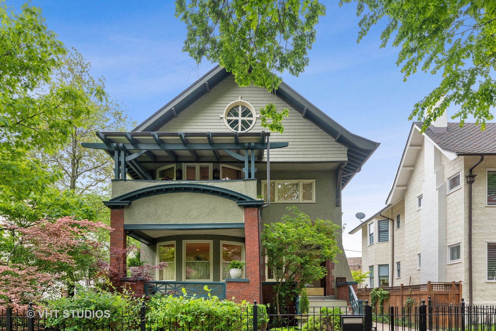 Extraordinary opportunity on historic Hawthorne Place truly steps from the lakefront and Belmont Har