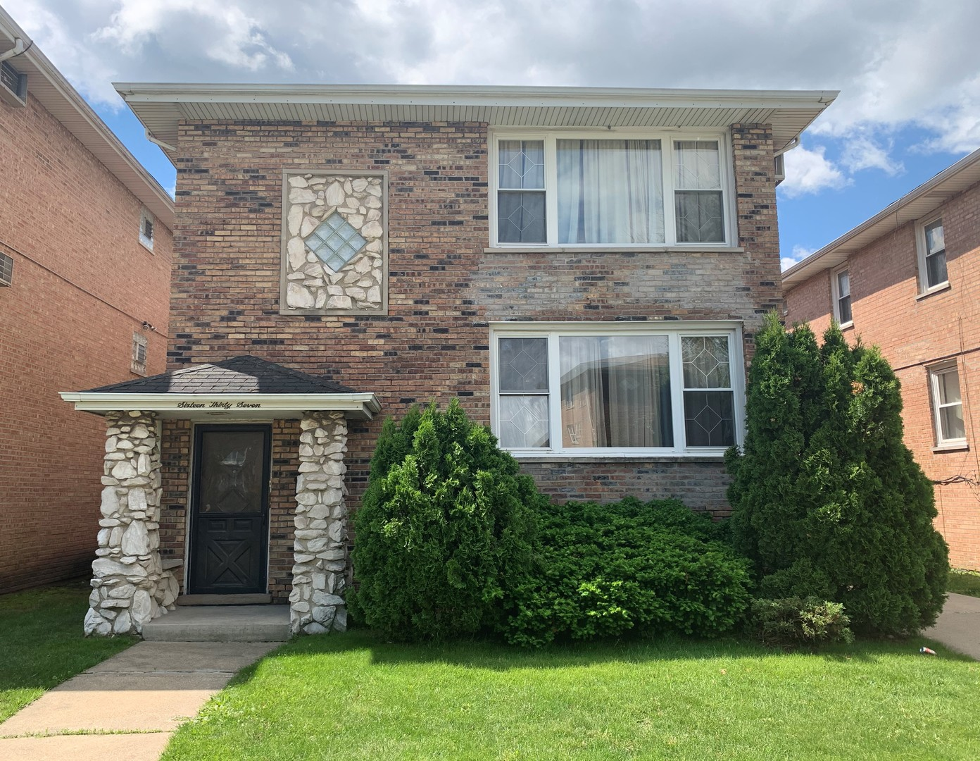 """Check out this excellent, well maintained 2 flat building in Calumet City.  Two 3 bedroom units and full basement that includes an extra bedroom, bar, and full bathroom! Master baths included in both units.  Won't last long!  AS IS"""" with lots of potential. *Buyer to assume all Village inspections, requirements and repairs*.  Minor repairs are needed. With a little sweat equity this house would be a great investment home. Property is sold AS-IS!"""